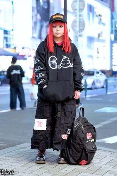 Токийский стритстайл (много картинок) / Street Style / ВТОРАЯ УЛИЦА