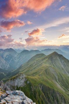 Lechtal Alps, Austria