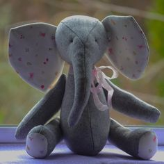 Handmade Elephant inspired on vintage by SeedsOfLoveHandmade