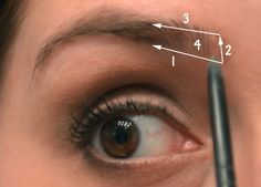 "Makeup Steps That Really Make A Difference. Fill In Your Brows Have you ever heard of a makeup artist call eyebrows the ""frame for your eyes""? It's amazing how much of a difference great eyebrows can make! I like to fill in my eyebrows with a pencil, but a powder or even just a tinted brow gel would also work.:"