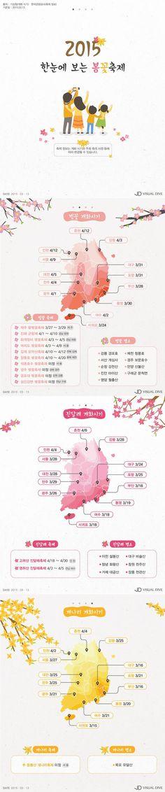 '벚꽃 엔딩', 빠르게 차트 역주행 중… 올해 벚꽃 볼 수 있는 곳은? [인포그래픽] #cherry_blossoms / #Infographic ⓒ 비주얼다이브 무단 복사·전재·재배포 금지