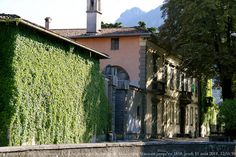 Villa Manzoni, the birthplace of Alessandro Manzoni, well-known Italian author of I Promessi Sposi, or The Betrothed.