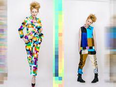 Colorcode lookbook foto: Jakub Gulyás make-up a vlasy: Boris Bordács modelka: Alexandra Rehušová topánky: Espana shoes
