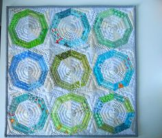 "Fab Little Quilt Swap 3 | Flickr - Photo Sharing! ""Spinning Stars"""