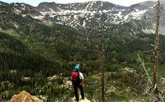 The Mount Zirkel Wilderness near Steamboat Springs, Colorado.