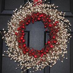 Holiday Wreath - pretty & festive!