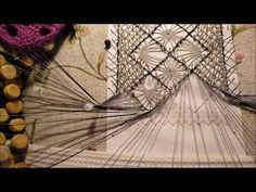 Needle Lace, Bobbin Lace, Lace Heart, Lace Jewelry, Hand Fan, Butterfly, Youtube, Bobbin Lace Patterns, Point Lace