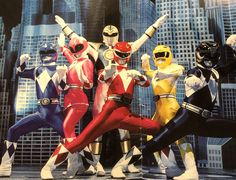Mighty Morphin' Enough said. Power Rangers Season 1, Saban's Power Rangers, Mighty Morphin Power Rangers, Saban Entertainment, Vr Troopers, Original Power Rangers, 90s Kids, Super Powers, A Team