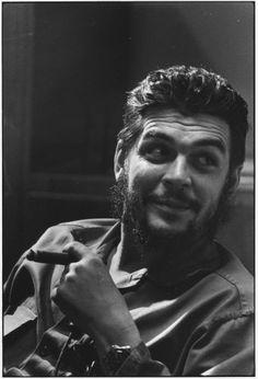 Che Guevara by Elliott Erwitt. Cuba, 1964