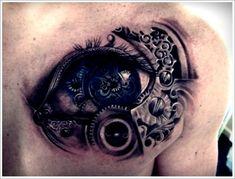 35 Not so Common Eye Tattoo Designs