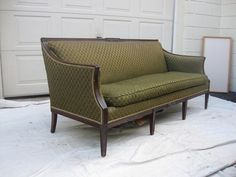 vintage sofa couch Federal style antique | eBay