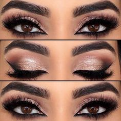 Pick the best combination of eyeshadow for brown eyes, and you will be the queen in every room you enter. Check out our photo gallery. http://amzn.to/2t3FEw7