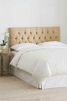 Custom Kensington Upholstered Headboard - Headboards - Bedroom Furniture - Furniture | HomeDecorators.com