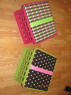 Seat cushions for the classroom!