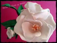 FLORES DE GOMA EVA ***ROSA FACIL** * - YouTube