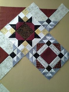 Allietare! - Bonnie Hunter's 2015 Mystery Quilt. from he Quilt Board.