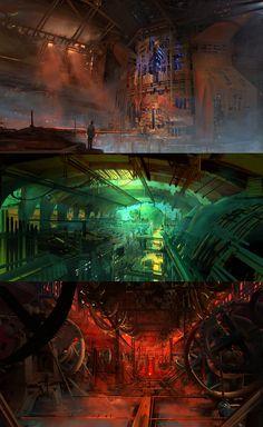 Underground City II by fmacmanus.deviantart.com on @DeviantArt
