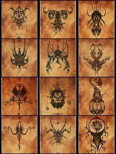 Mosaic Zodiac -  Mistic Style