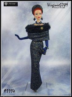 Tenue Outfit Accessoires Pour Barbie Silkstone Fashion Royalty 1114 | eBay
