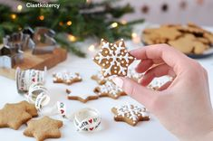 Pierniki świąteczne – miękkie, gotowe od razu po upieczeniu :) Place Cards, Place Card Holders, Cookies, Miami, Thermomix, Ideas, Crack Crackers, Biscuits, Cookie Recipes