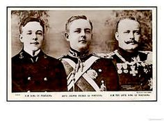 Carlos, King of Portugal and his two sons, D. Luis Filipe and D. Manuel , who was to be the last king of Portugal. Portuguese Royal Family, Ferdinand, Spain, King, Royal Families, History, Austria, Royals, Movie Posters