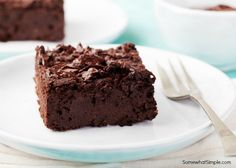 I spent several years in search of the best homemade brownie recipe. My search is over, this is it. I have tried severalhomemade brownie recipes, and while I am not usually too disappointed in chocolate baked goods, there was always something just not quite right. And then my sister in law introduced me to her brownies and suddenly all was