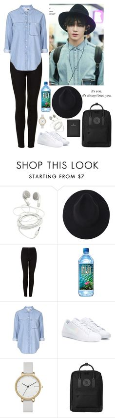 """Untitled #752"" by oned-rita3 ❤ liked on Polyvore featuring Topshop, NIKE, Skagen, Fjällräven and FOSSIL"