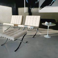 Designerskie meble do salonu Walter Knoll fotel Barcelona® Chair Katowice Kraków