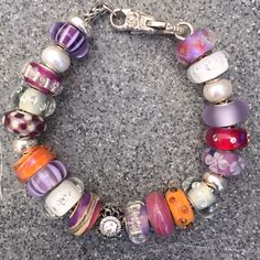 My own bracelet with many Summersday Beads