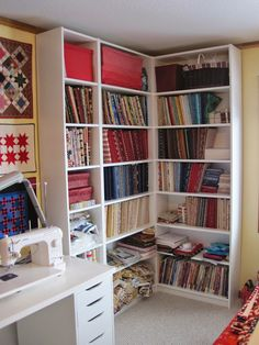 hi everyone i realized that a blog post about my new sewing room would be