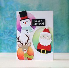 SSS-Picture Book Snowman, Santa & Deer