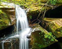Dismals Canyon Rainbow Falls, Alabama