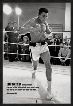 Muhammad Ali 24 x 36 inch poster