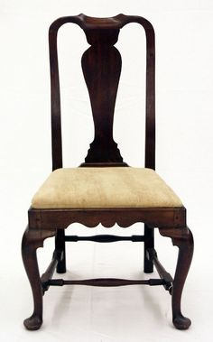 queen ann chairs tiffany wedding 69 best anne images antique furniture painted c chair influence of dutch cabriole legs