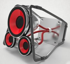 Diy Speakers, Stereo Speakers, Portable Speakers, Homemade Speakers, Speaker Amplifier, Sound Speaker, Audio Sound, Audio Design, Speaker Design