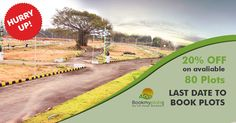 Grab #villa #plots at 25% discount compared to current market price. Hurry Up! Only Few Plots are available www.bookmyplots.com Call us at :- 098445 75001