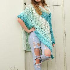 Wear A Blanket Poncho Crochet Pattern