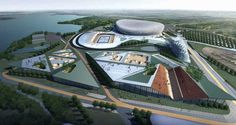 Guangzhou Extreme Sport Center | Information Based Architecture - Arch2O.com