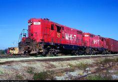 RailPictures.Net Photo: MKT 101 Missouri, Kansas & Texas Railroad (Katy) EMD GP7 at Parsons, Kansas by David Hawkins