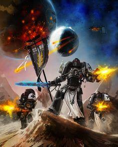 Warhammer 40000,warhammer40000, warhammer40k, warhammer 40k, ваха, сорокотысячник,фэндомы,Imperium,Империум,space marines,Black Templars,Чёрные Храмовники,Space Marine,Adeptus Astartes