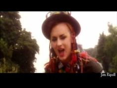 Culture Club - Karma Chameleon - HD  HI FI ~ Boy acts from the late 70's and early 80's wouldn't be complete without GEORGE.