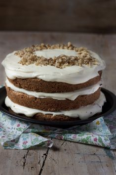 CARROT LAYER CAKE | Sweet And Sour
