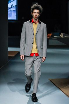 Prada Fall 2013 Menswear Fashion Show