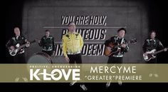 """MercyMe """"Greater"""" (Music Video)"""