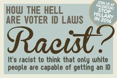 Voter ID's keep non-citizens from voting; you wouldn't want foreigner's to determine what is best for Americans.