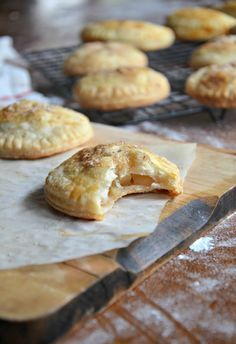 Apple Pies with Buttery Crusts