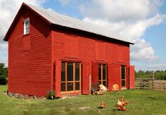 the farm stay barn.  I would LOVE to stay here some day.  Kinderhook Farms Valatie, NY