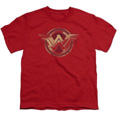 BATMAN V SUPERMAN WONDER SHIELD Youth 18/1 T-Shirt