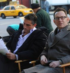 Person of Interest/ James Caviezel & Michael Emerson - good show!