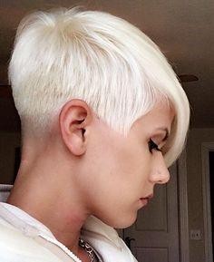 Model: @_w.a.n.d.e.r.l.o.s.t Hair by: @hairsamurai Salon: @rendezvous_hair_salon #undercut #shorthair #haircut #hairstyle #pixiecut #shorthairlove